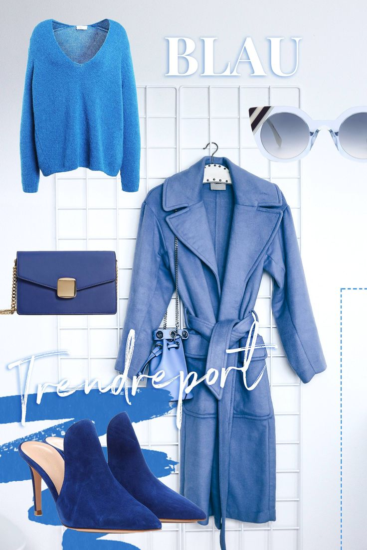 Herbst Trendfarbe Blau kombinieren, Modereport, Herbst Trends, Fashion Blog, Modeblog, Outfit Blog, Style Blog, www.whoismocca.com