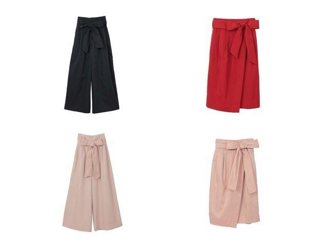 おすすめ!人気ファッション雑誌掲載アイテム  31 Sons de mode/トランテアン ソン ドゥ モードのスカート ベルト付きタイトスカート&パンツ チノワイドパンツのファッション通販