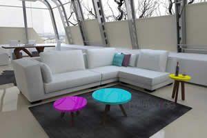 Γωνιακός καναπές Cosma, Σαλόνια : Καναπέδες,