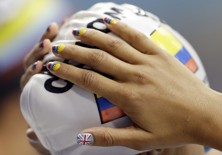 nice olympic manicures