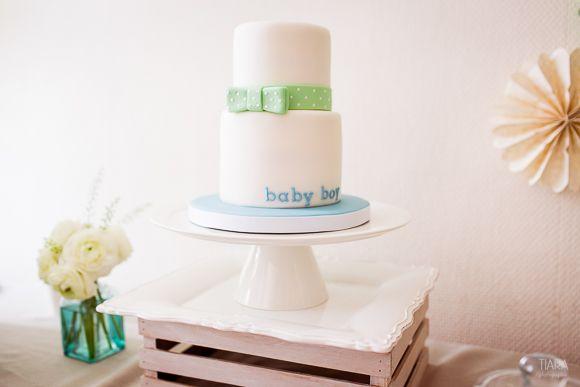 La baby shower de Sarah #cake #babyshower
