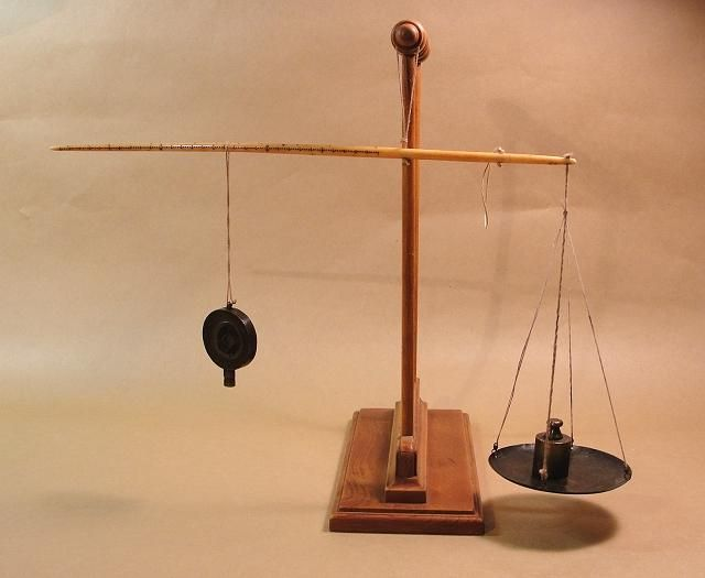 Chinese Steelyard Balance Scale (c1909) - Scale in Action