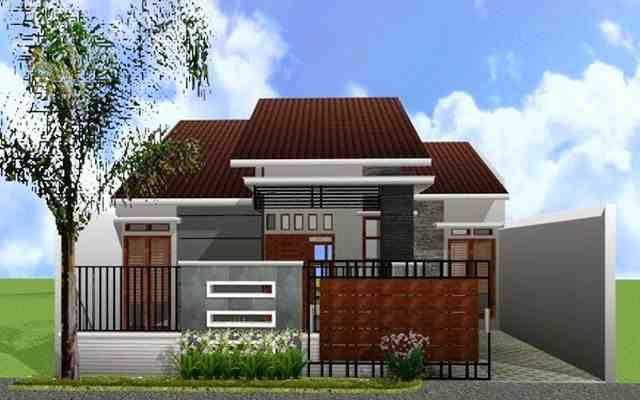 http://inrumahminimalis.com - warna cat rumah minimalis tampak depan