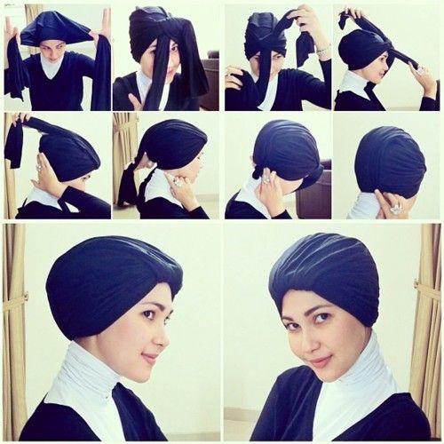 how to wrap turban tutorial