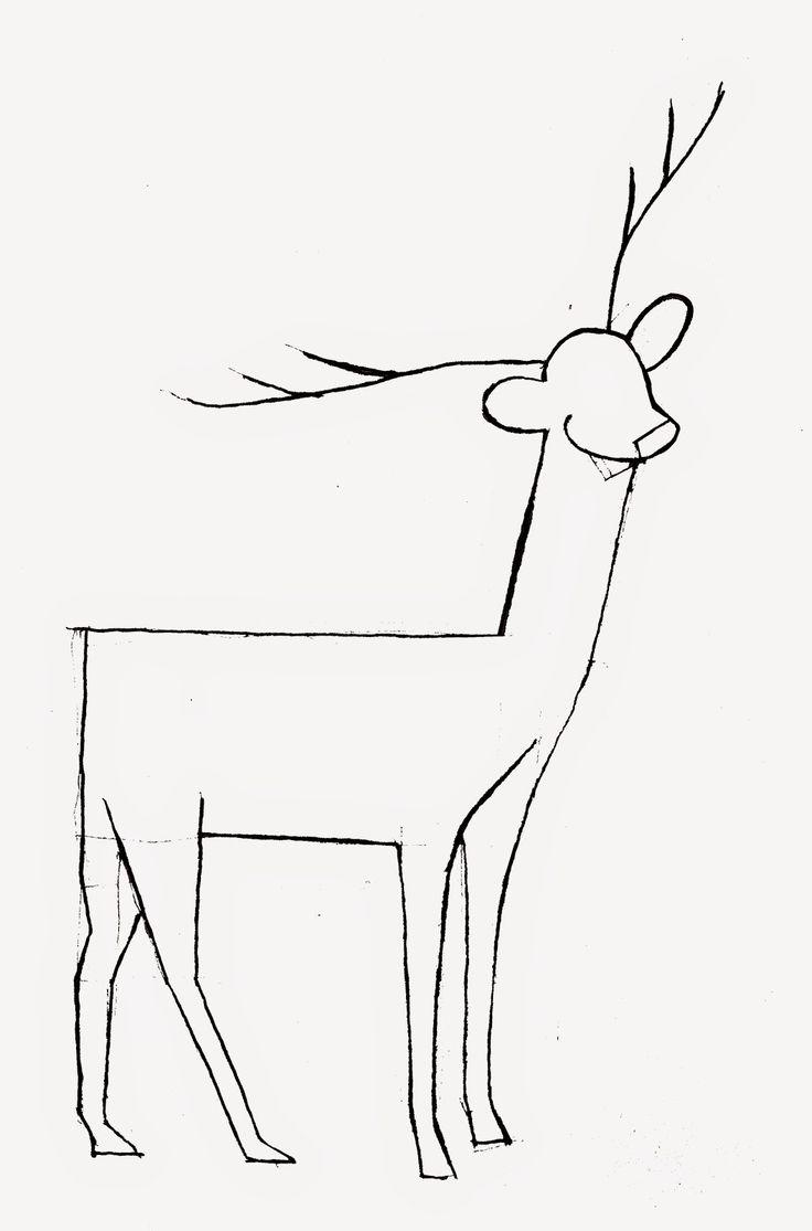 Panduan Pintar Membuat Gambar Hewan: Cara Menggambar Rusa (Langkah 10-12)