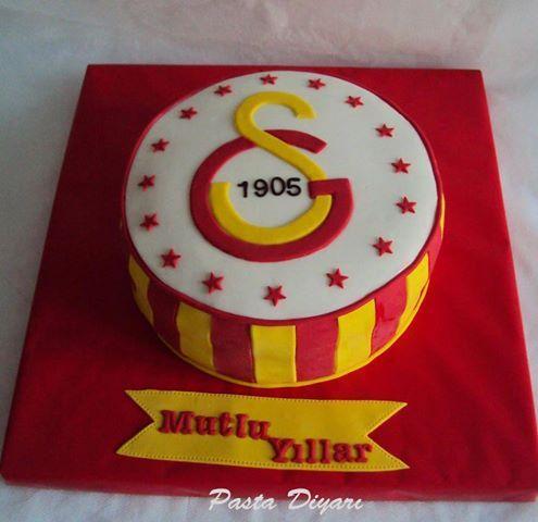 Galatasaray Doğum Günü Pastası-4