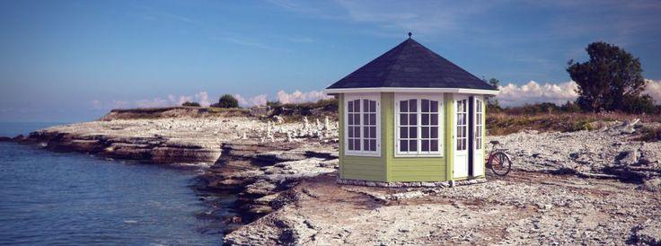 Oltre 1000 idee su casette da giardino su pinterest - Casette da giardino moderne ...