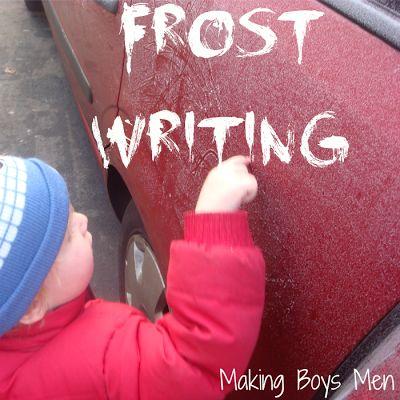 Making Boys Men: Frost Writing