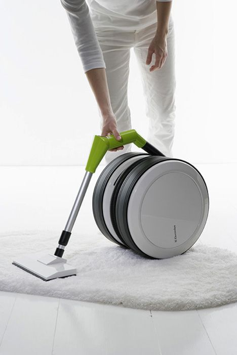 The design philosophy behind the Eclipse was to remove many of the current problems associated with vacuum cleaners.