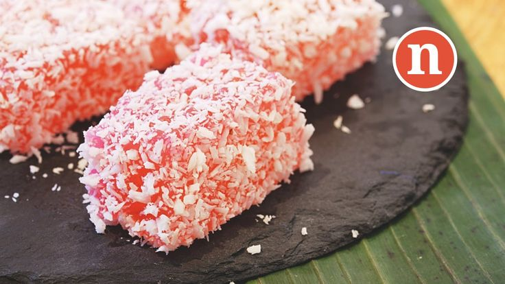 Kuih Sago Rose | Rose flavoured Steamed Sago