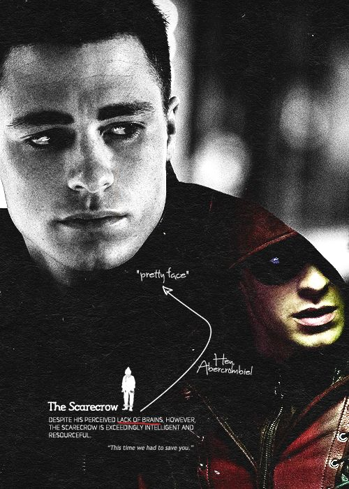 #TeamArrow | I'll miss you most of all, scarecrow. | gorgeous edit