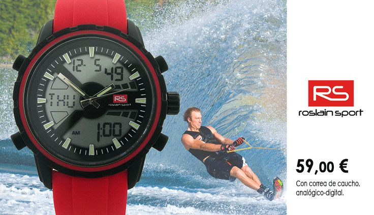 Reloj RS, ideal para deportistas.