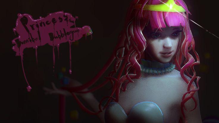 ArtStation - Princess Bonnibel Bubblegum, Foxling D.F