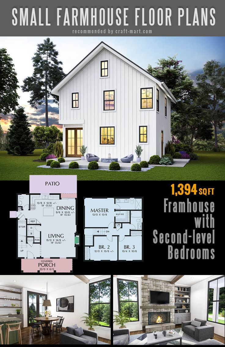 Small Farmhouse Plans For Building A Home Of Your Dreams Craft Mart Simple Farmhouse Plans Small Farmhouse Plans House Plans Farmhouse