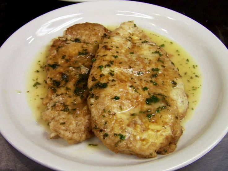 Chicken Francese recipe from Robert Irvine via Food Network