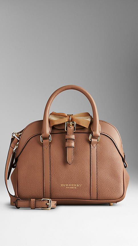 Small Bow Detail Leather Crossbody Bag | Burberry