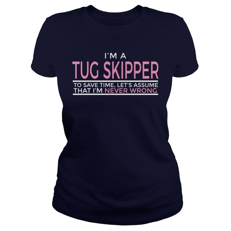 Proud Best TUG SKIPPER Jobs Tee