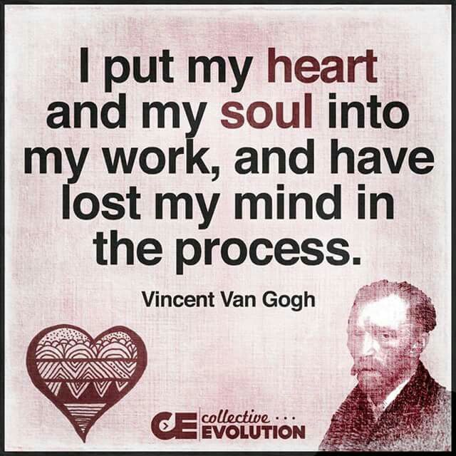 Vincent Van Gogh Quotes: 1000+ Images About What They Said On Pinterest