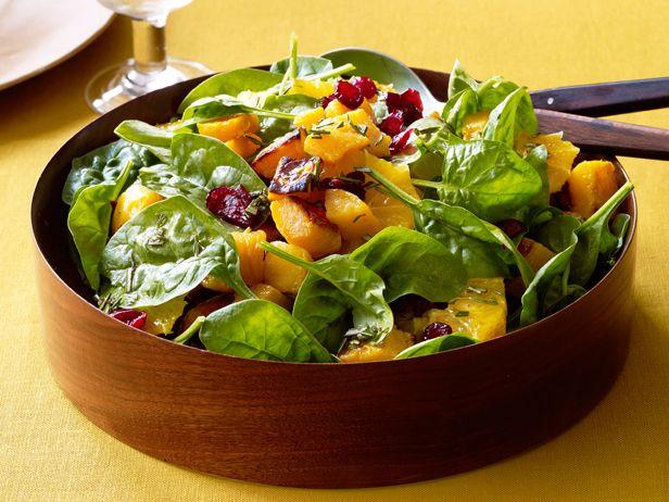 Roasted Butternut Squash Salad With Tangerine-Rosemary Vinaigrette ...