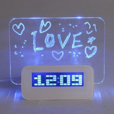 Despertador digital Baban por solo 16,89 €  Se trata de un reloj de alarma multifuncional con alarma, agenda, mensajes y sirena. con una pluma que puede escribir lo que quiere decir a su familia, hijos y seres queridos.   #baban #chollo #descuento #despertador #digital #oferta