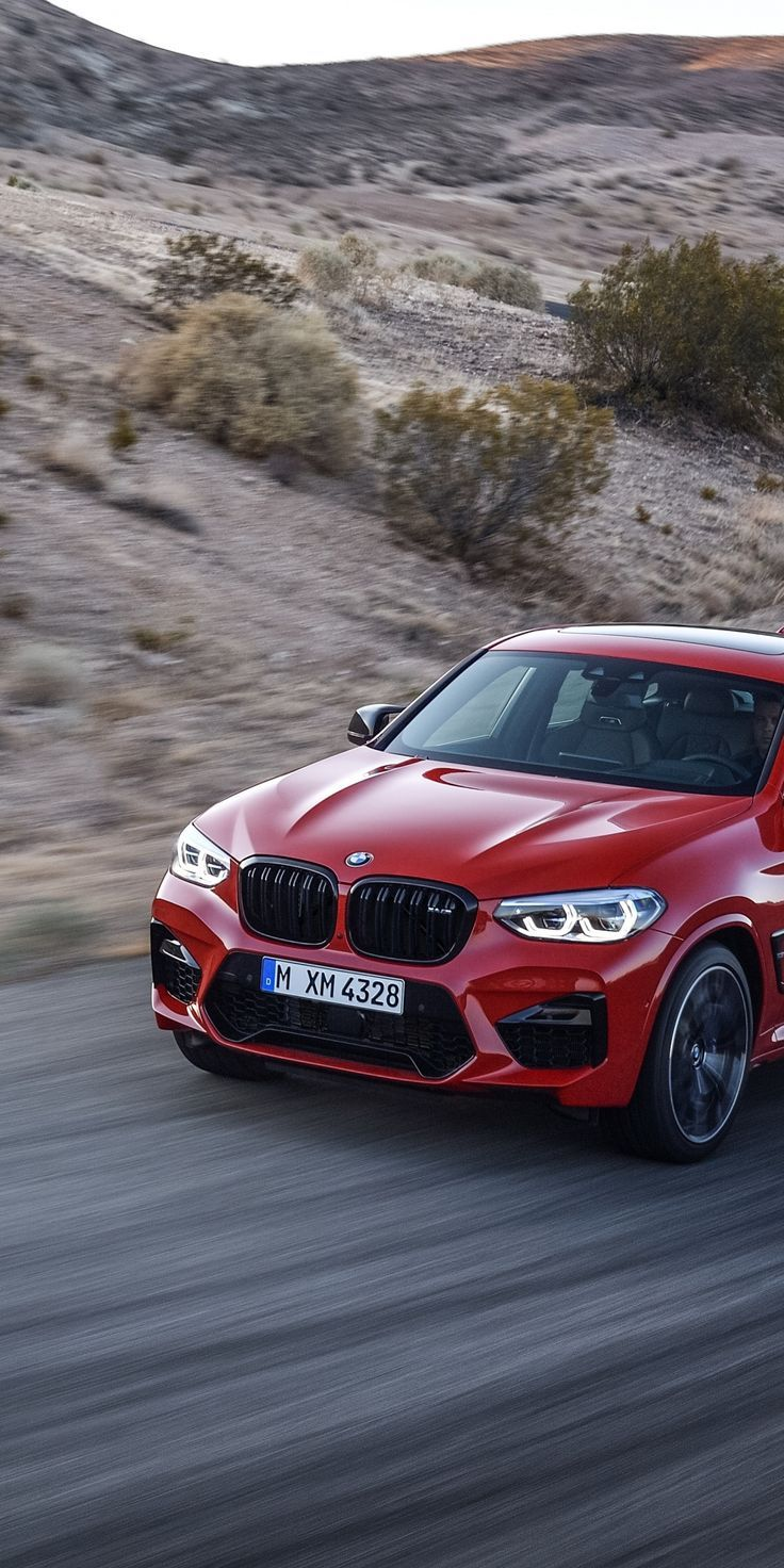 Bmw X4 On Road Red 720x1280 Wallpaper Coches Y Motocicletas