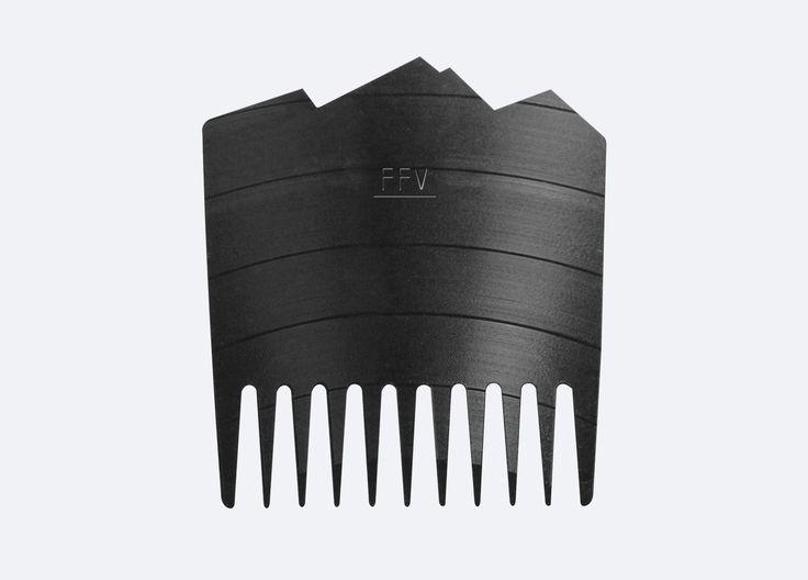 Fit for Vikings Vinyl Beard Comb - OFFER
