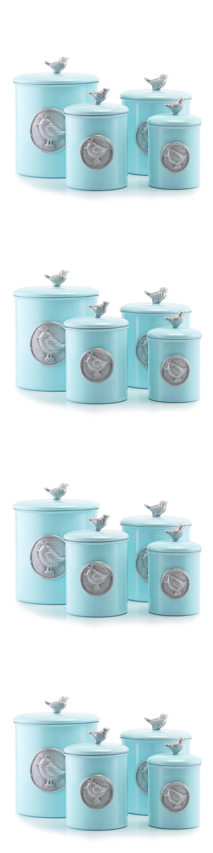 best 25 tea coffee sugar jars ideas only on pinterest tea and canisters and jars 20654 blue canister set kitchen storage sugar jar flour tea coffee lid