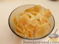 Фото к рецепту: Картофельные чипсы в микроволновке