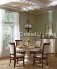 Lampa wisząca LAILA kol. ANTYCZNY BRĄZ (QZ/LAILA4B ) - QUOIZEL - Elstead Lighting