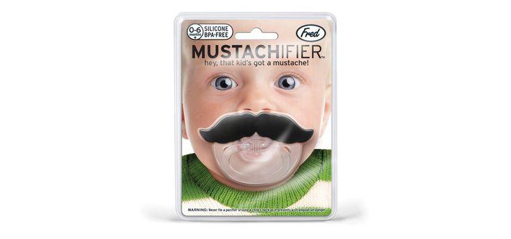 Baby Mustache http://www.differentdesign.it/2014/06/02/baby-mustache/ Ecco come trasformare il vostro #bebè in un adulto alla #moda. Da Invotis il ciuccio per far indossare i #baffi al vostro #bambino.