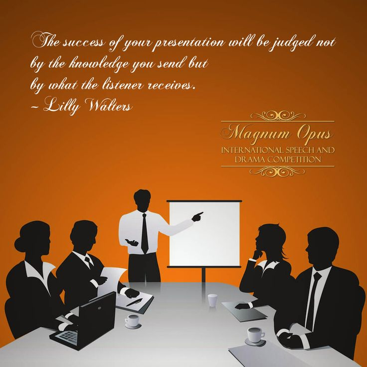 The #success of your #presentation will be judged not by the #knowledge you send but by what the listener receives. – Lilly Walters #quote