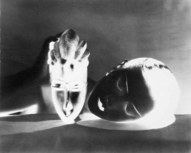 Noire et blanche (negative), 1926  Photographer: Man Ray  Model: Kiki de Montparnasse (Alice Prin)