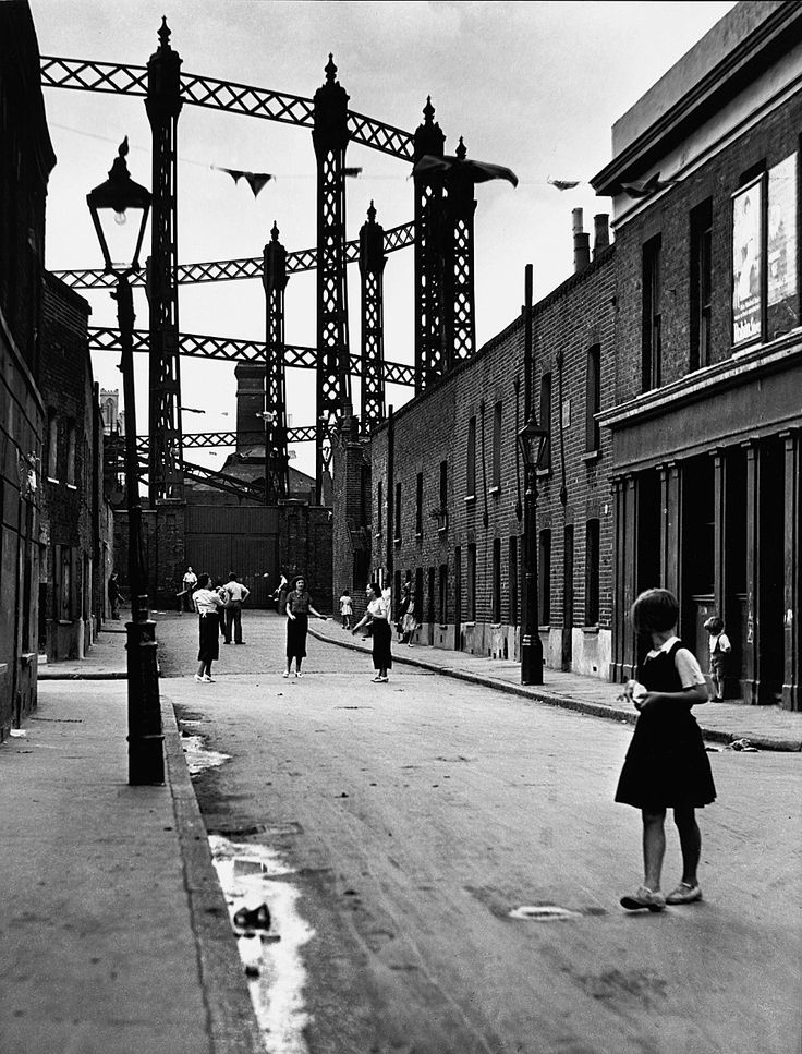Stepney, East End, London, 1934