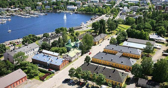 Harbour. Parks. Fortification. South-Karelia Saimaa. Lappeenranta.fi