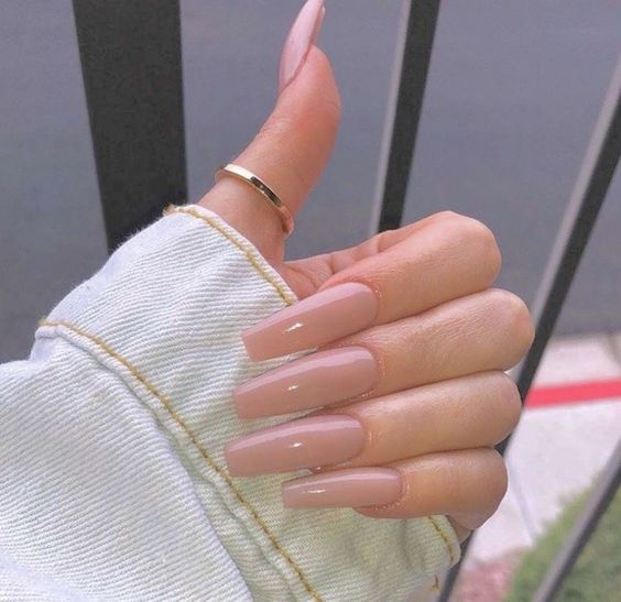 50+ Acrylic Coffin Trending Nails Art Designs For Summer 2018