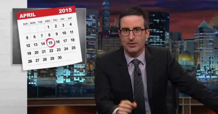 Last Week Tonight with John Oliver: The #IRS - CONgress has cut IRS Budget by Billions!! #WTF  (HBO)
