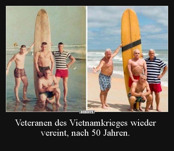 Veteranen Des Vietnamkrieges Wieder Vereint Nach 50