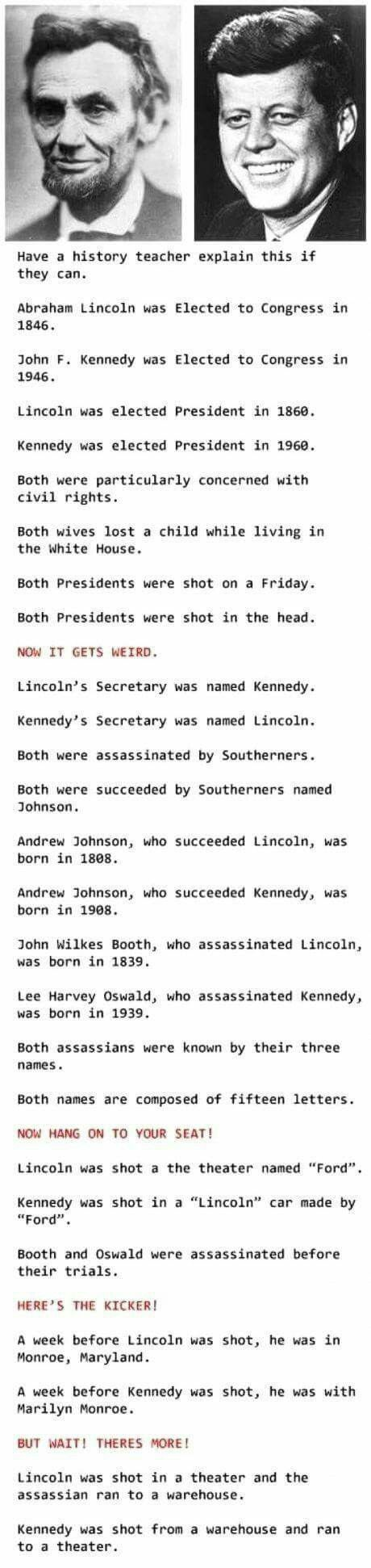 Lincoln/Kennedy