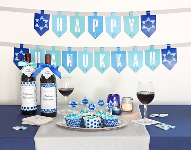 Top 25 Ideas About Hanukkah Decorations On Pinterest