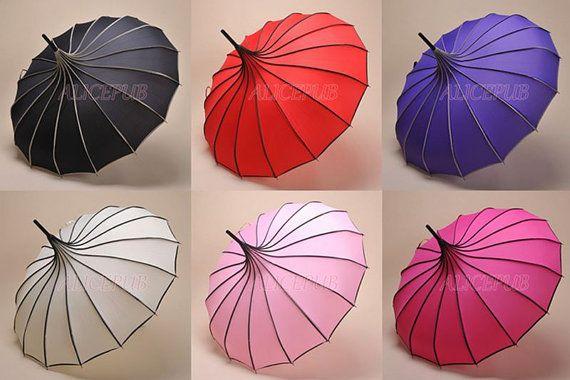 best price Waterproof Umbrella, Rain Umbrella, Sun Parasol, Pagoda Umbrella, Wedding Umbrella Parasol, Bridal Umbrella, Vintage Umbrella, Parasol BTS12