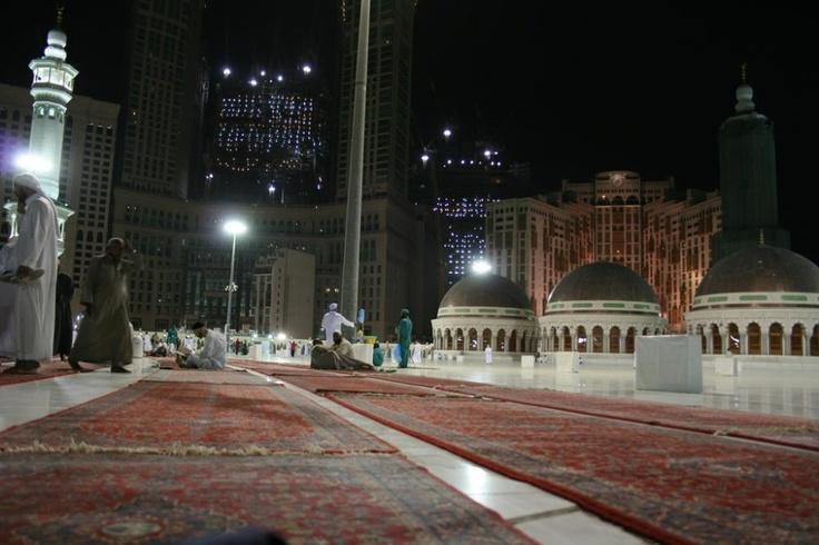 Masjid Al Haram in Makkah - Saudi Arabia (roof)