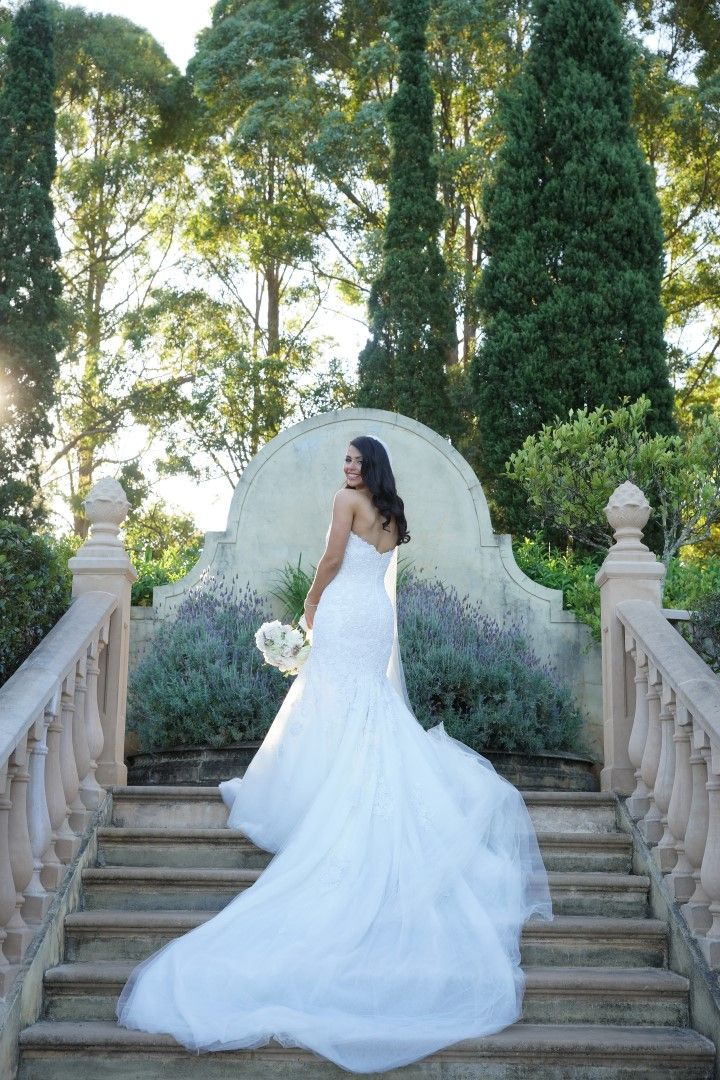 Photography: Sugarlove Weddings  I loved the enormous train on my Steven Khalil dress.