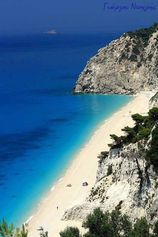 https://www.facebook.com/PoseidonHolidaysAndTours?ref=hl The amazing Egremni beach in Lefkada, Greece