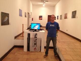 Cazafotosub en Apnea   Respira photo exhibition by Juan Carballo   Seac Team Canary Islands