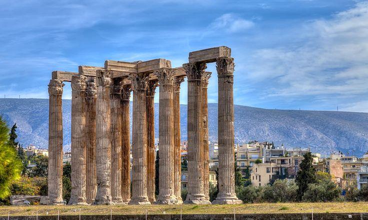 Temple of Zeus, Athens Archaeological Park. www.secretearth.com/attractions/241-athens-archaeological-park