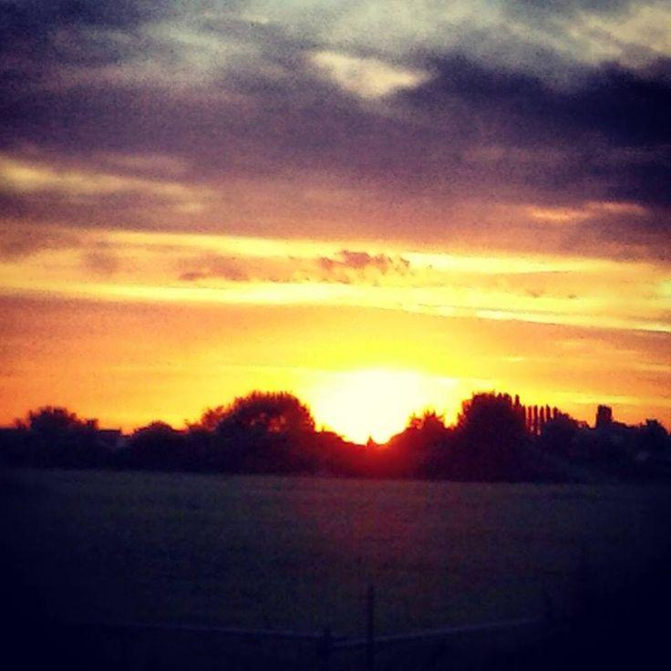 #sunset #sun #huissen #kennyderidder