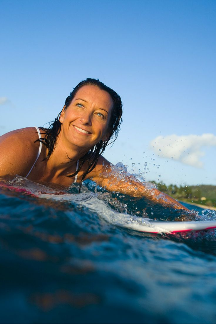 Layne Beachley! The most successful female surfer of all time <3 #BraveBeachley