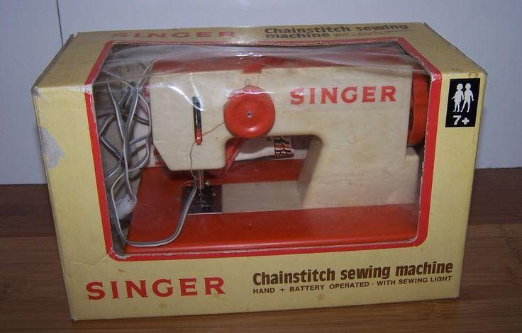 Machine coudre singer jouet enfant machine a coudre for Singer boite a couture