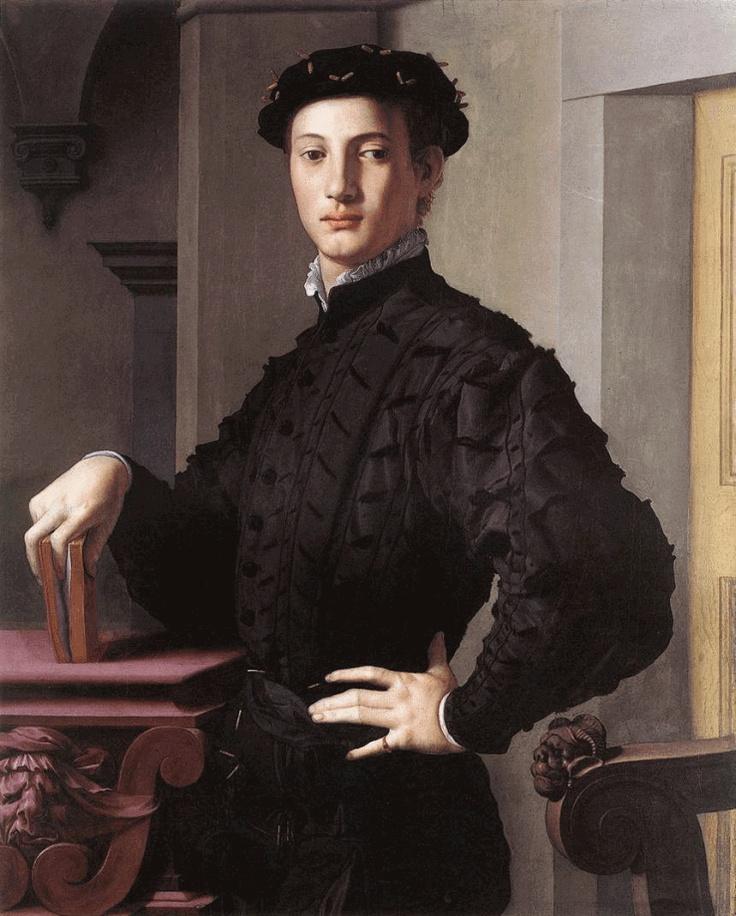 "Bronzino, ""Portrait of a Young Man"""