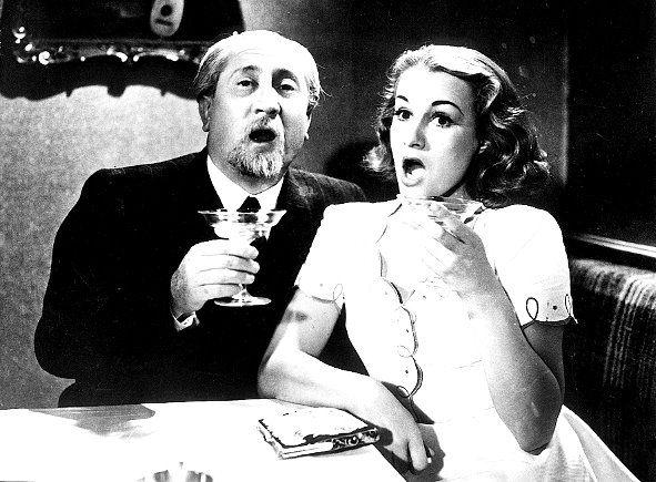 Dva týdny štěstí, 1940 (režie Vladimír Slavínský)  Jaroslav Marvan, Adina Mandlová